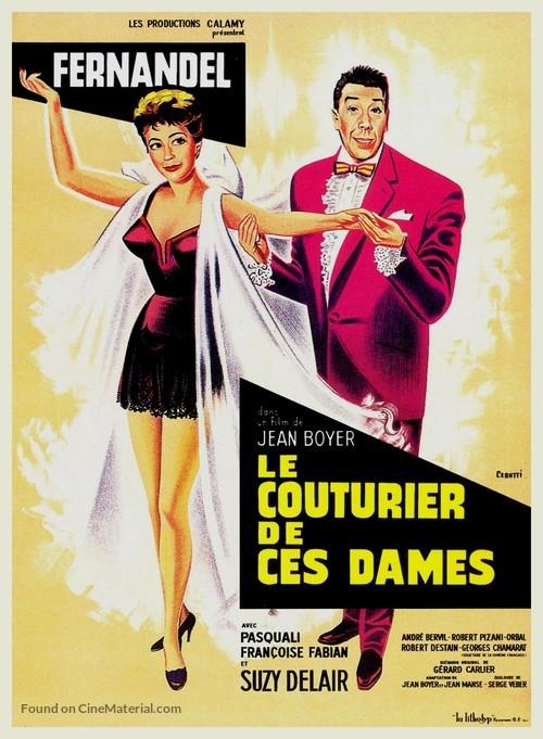Le couturier de ces dames - French Movie Poster