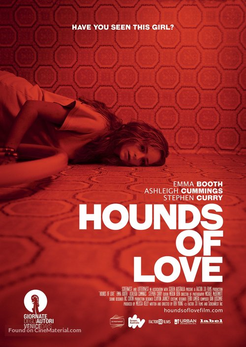 Hounds of Love - Australian Movie Poster