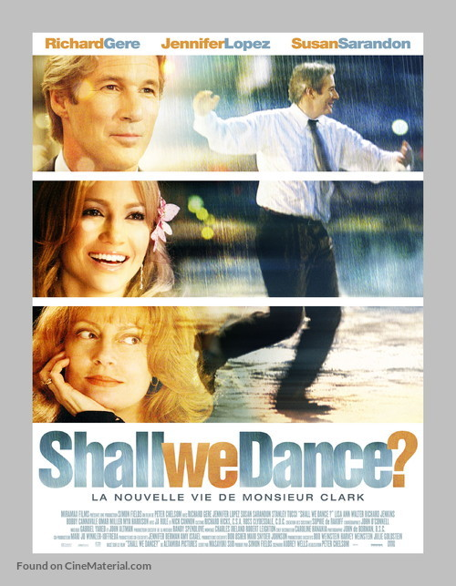 Shall We Dance - French Movie Poster