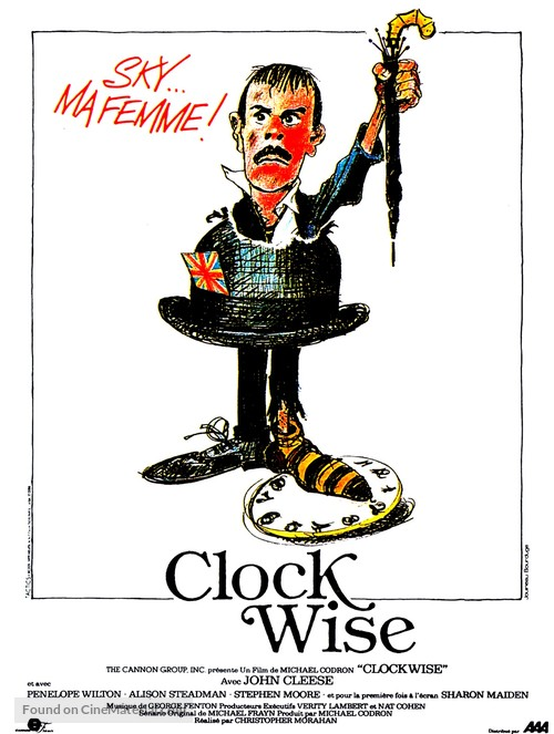 Clockwise - French Movie Poster
