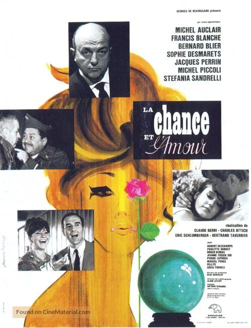 La chance et l'amour - French Movie Poster