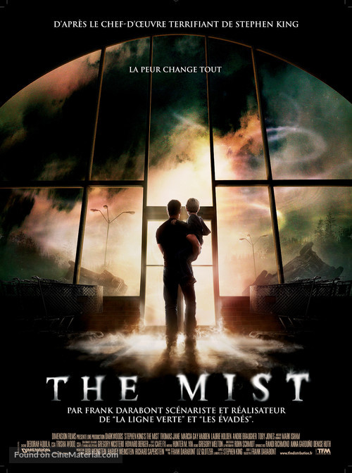 The Mist - French Movie Poster