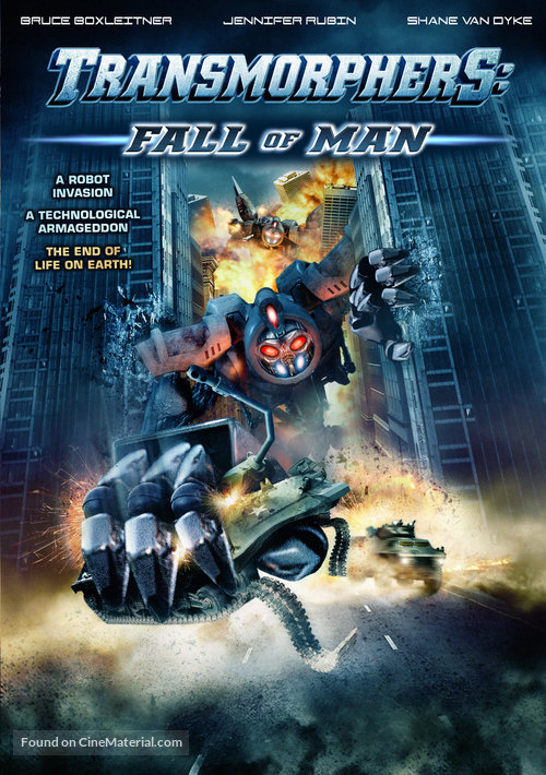 Transmorphers: Fall of Man - Movie Poster