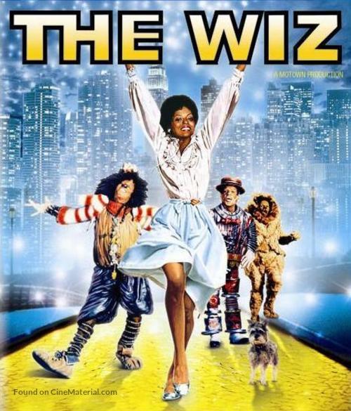 The Wiz - Blu-Ray movie cover