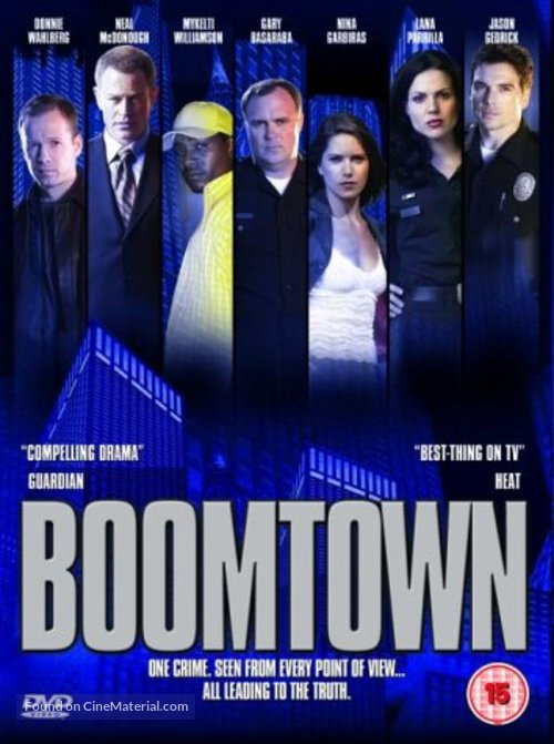 """Boomtown"" - British DVD movie cover"