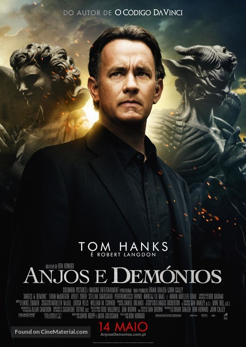 Angels & Demons - Portuguese Movie Poster