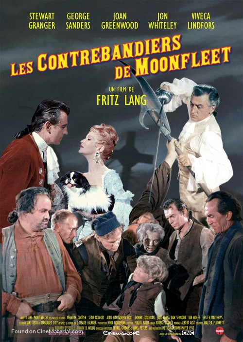 Moonfleet - French Re-release movie poster