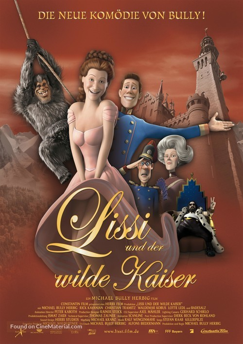 Lissi und der wilde Kaiser - German Movie Poster