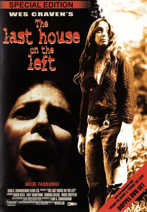 The Last House on the Left - German Movie Cover