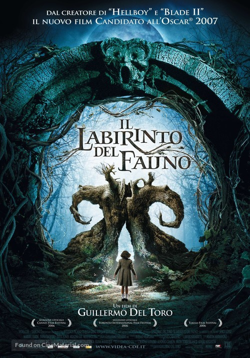 El laberinto del fauno - Italian Movie Poster