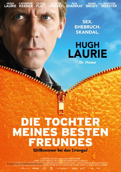 The Oranges - German Movie Poster