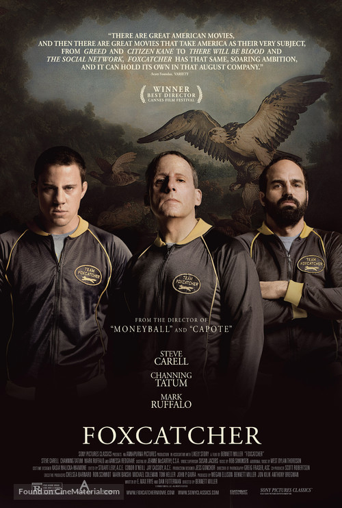 Foxcatcher - Theatrical movie poster