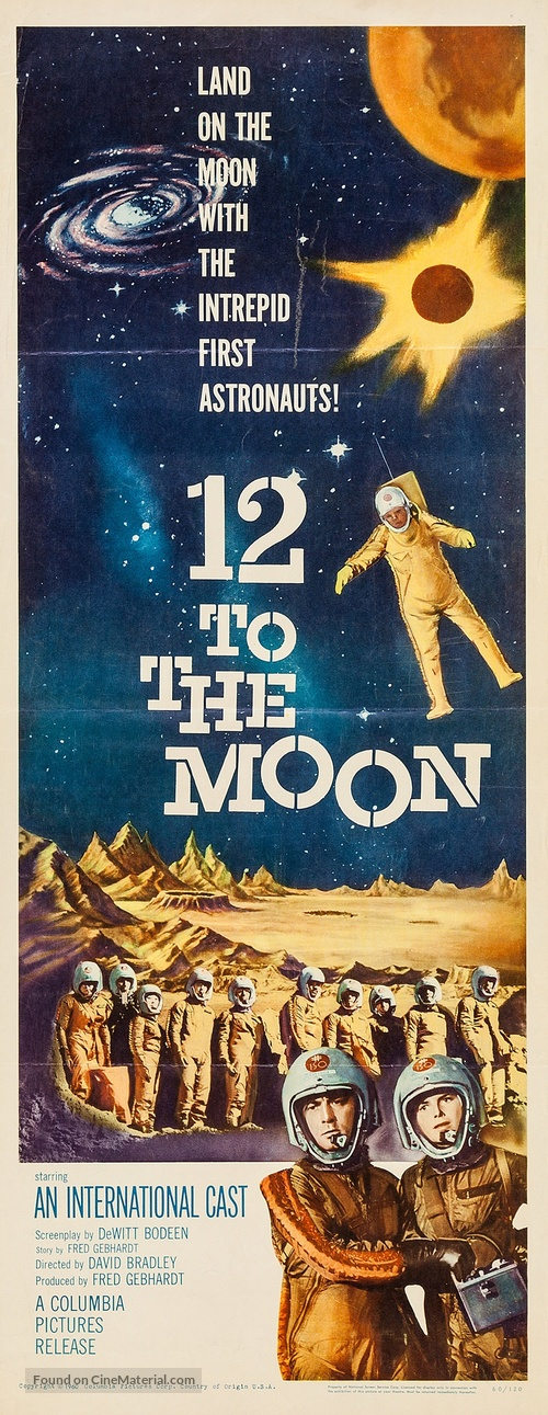 12 to the Moon - Movie Poster