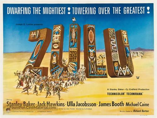 Zulu - British Movie Poster