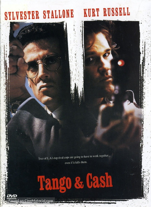 Tango And Cash - Finnish DVD movie cover
