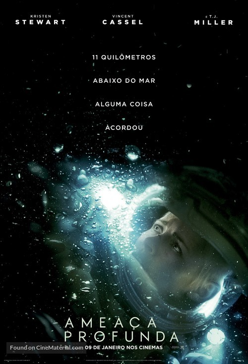 Underwater - Brazilian Movie Poster