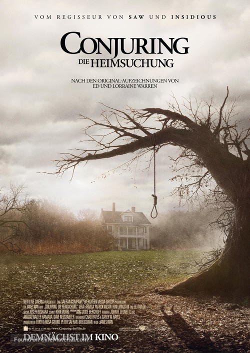 The Conjuring - German Movie Poster