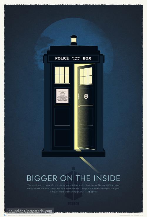 """""""Doctor Who Confidential"""" - British Movie Poster"""