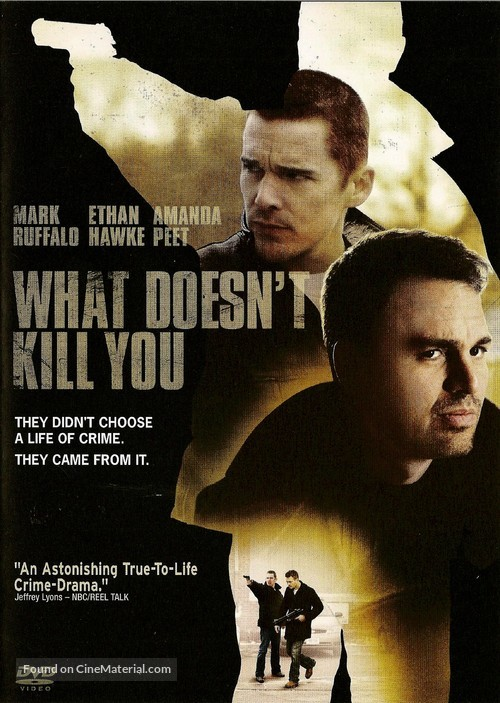 What Doesn't Kill You - DVD movie cover