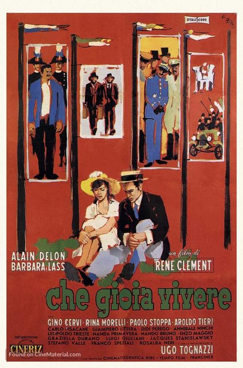 Che gioia vivere - Italian Movie Poster