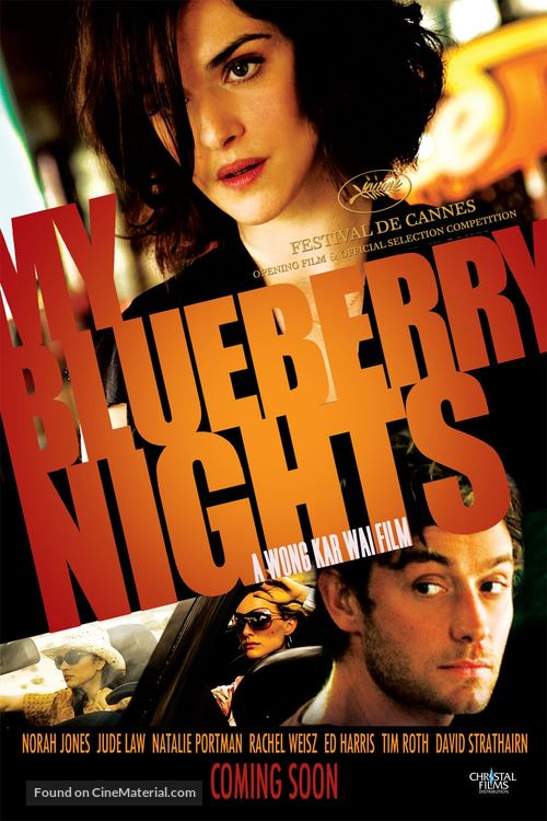 My Blueberry Nights - Movie Poster