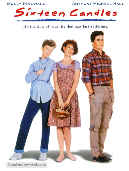 Sixteen Candles - DVD movie cover