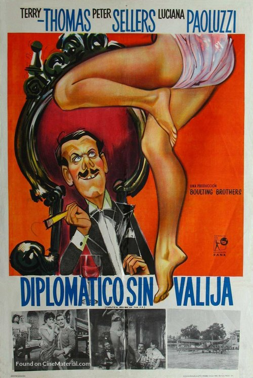 Carlton-Browne of the F.O. - Argentinian Movie Poster