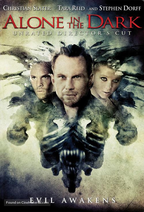 Alone in the Dark - DVD movie cover