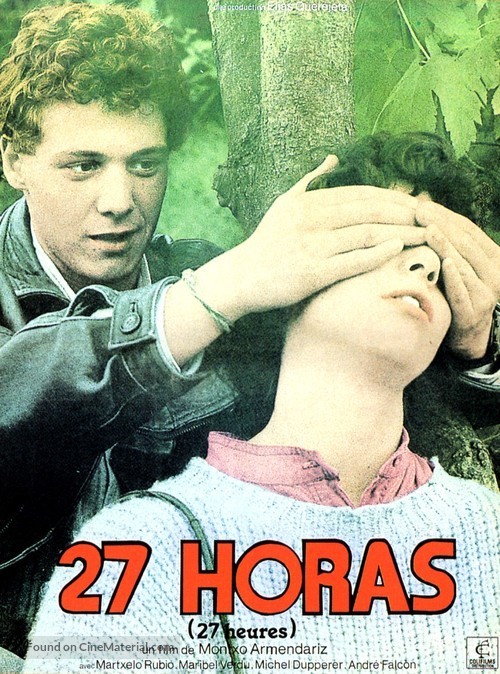 27 horas - French Movie Poster