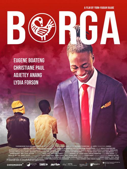 Borga - German Movie Poster