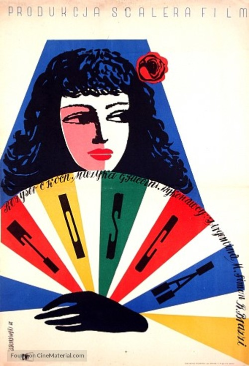 Tosca - Polish Movie Poster