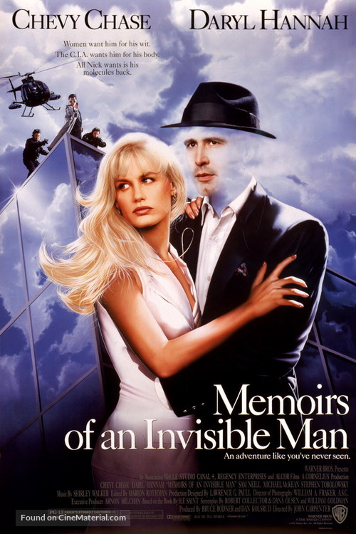 Memoirs of an Invisible Man - Movie Poster