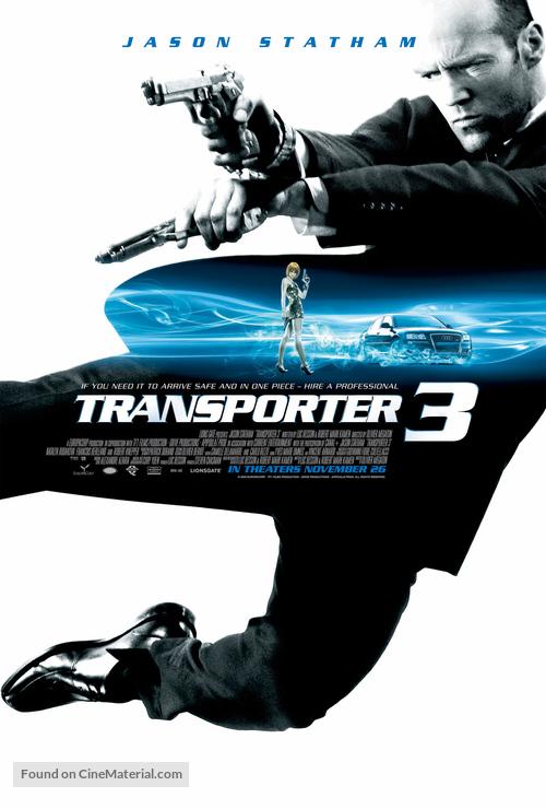 Transporter 3 - Movie Poster