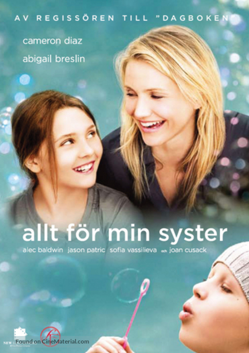 My Sister's Keeper - Swedish DVD movie cover