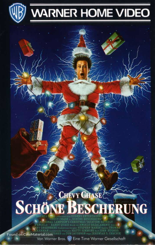 Christmas Vacation - German VHS movie cover