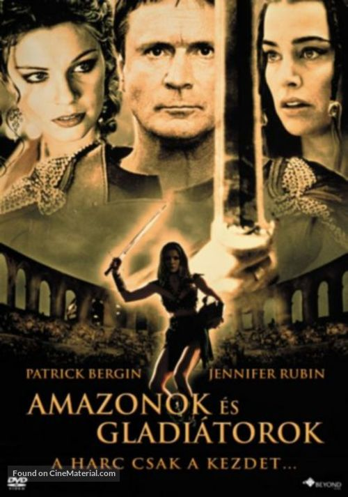 Amazons and Gladiators - Hungarian Movie Cover