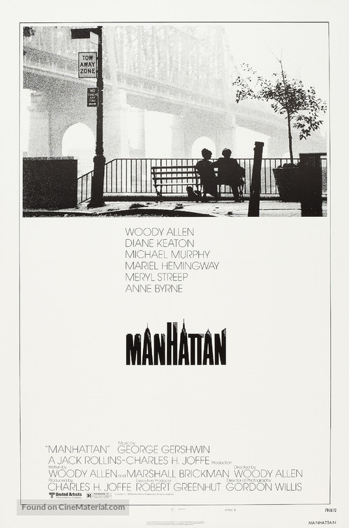 Manhattan - Theatrical poster