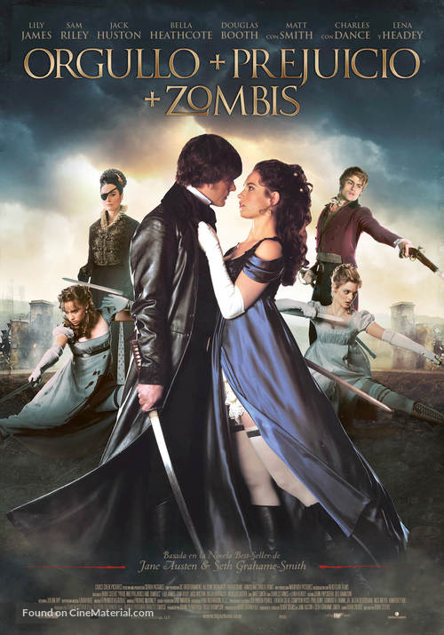 Pride and Prejudice and Zombies - Spanish Movie Poster