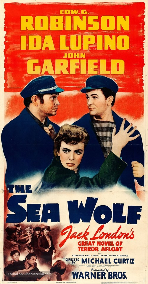 The Sea Wolf - Movie Poster