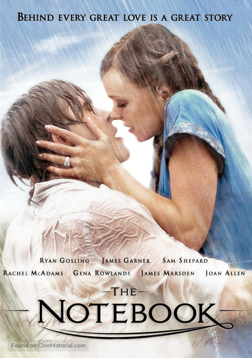 The Notebook - DVD movie cover