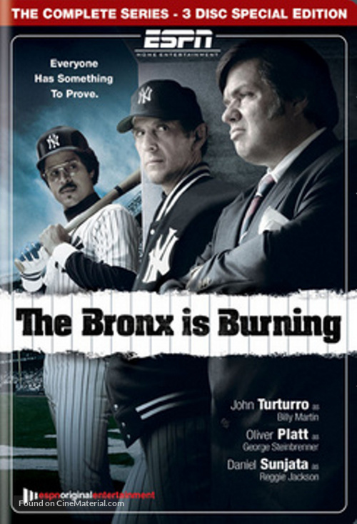 """The Bronx Is Burning"" - Movie Cover"