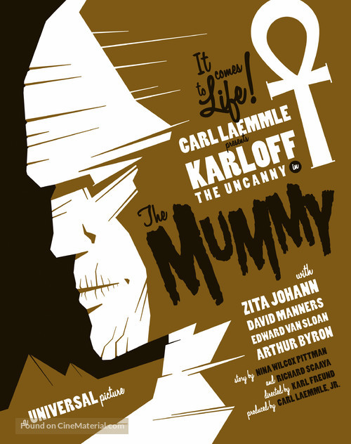 The Mummy - Homage movie poster