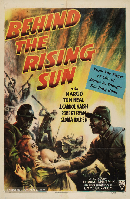 Behind the Rising Sun - Movie Poster