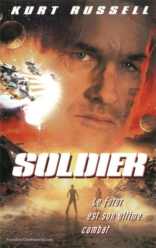 Soldier - French Movie Cover