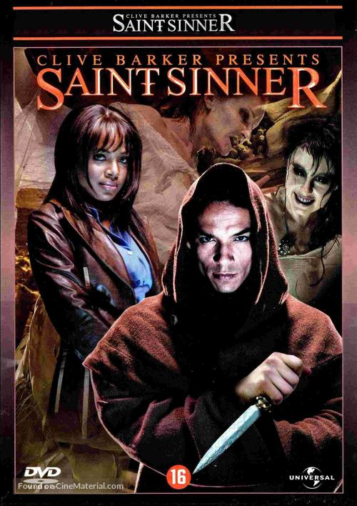 Saint Sinner - Dutch DVD cover