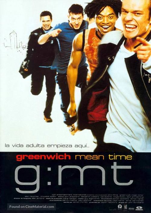 G:MT Greenwich Mean Time - Spanish Movie Poster