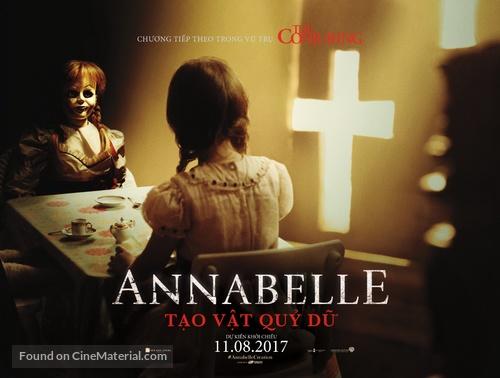 Annabelle: Creation - Vietnamese Movie Poster