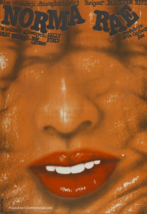 Norma Rae - Polish Movie Poster