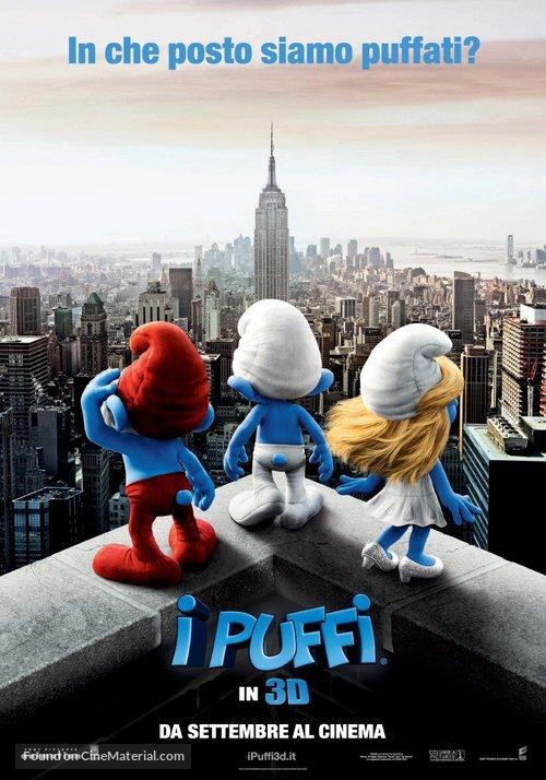 The Smurfs - Italian Movie Poster