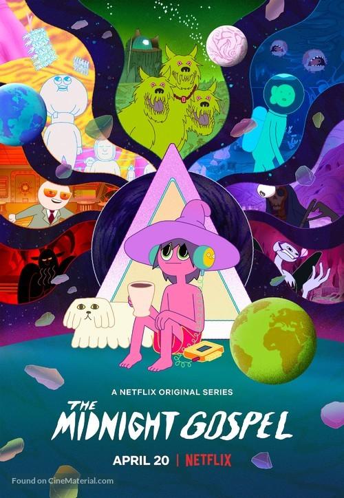 """""""The Midnight Gospel"""" - Movie Poster"""